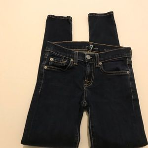 7 For All Mankind the Skinny Sz 8 Jeans